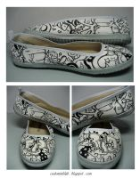 Custom Ballerinas - Fidiria by injuryordeath