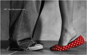 Pois-pois embrasse-moi. by ART-ifice