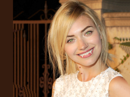 Actress Imogen Poots with Vampire Fangs by TurlyVamp