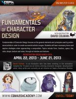 CGMA Online Class Fundamentals of Character Design by davidsdoodles