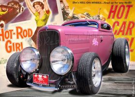 32 Ford Hot Rod RedHotTiki by RedHotTiki