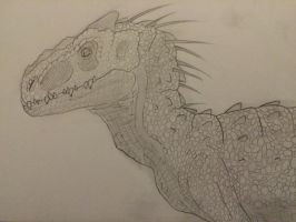Young Indominus Rex by AIpha-King