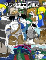 The Elraen Tales Cover Page by TujoThePanda