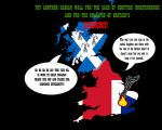 Anti-scottish Indep Poster by GeneralHelghast