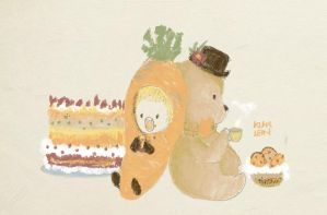 Project 365: Carrot Party by kumalein