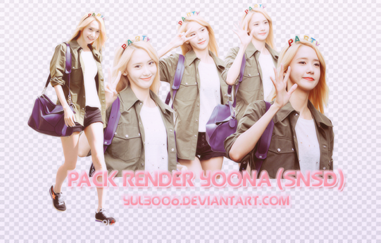 [RQ] PACK PNG YOONA (SNSD) by yul3006