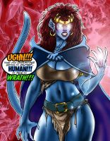 Dominant Demona by SuperPoser