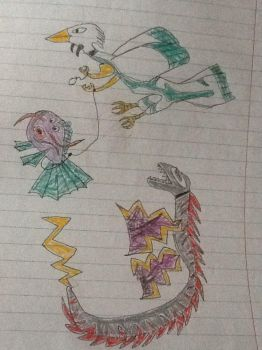 4th/5th grade drawings 21 by RawmanNoodles