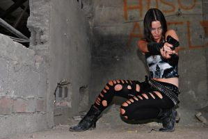 MCC: Punisher's RACHEL COLE-ALVES: Gotcha by MummeryComics