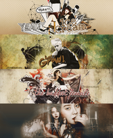 [130517] PACK COVER WILD - DESIGN BY BIFF by LonaSNSD