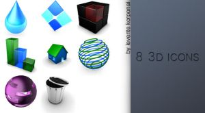 3D icons by 1995levente