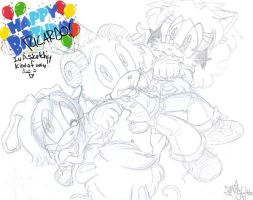 HAPPY SKETCHY BIRTHDAY by KACItheCAT