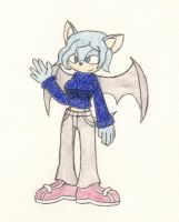 Request: Kimmy The Bat by eternalJonathan