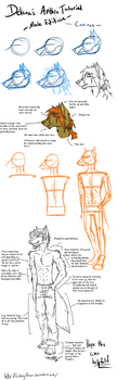.Tutorial. Anthro: Male by LindsayPrower