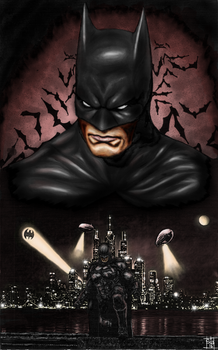 Batman by skunk4gwop