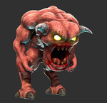 Doom Pinky Demon Original Wip by s13n1
