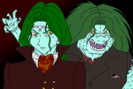 Zarbon: Dr. Jekyll and Mr. Hyde by PomDragon