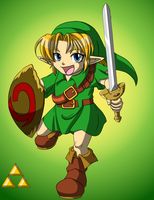 The Young Hero Link by rinkunokoisuru