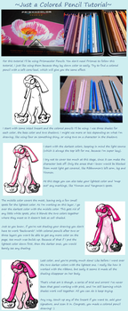 Colored Pencil Tutorial by SlightlyWinged