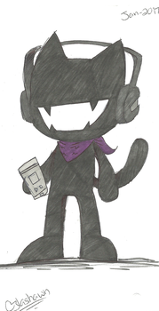 Monstercat Drawing by cjlashawn
