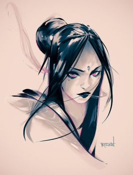 Indigo by rossdraws