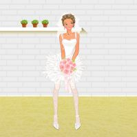 Luxury Wedding Dress dress up by Brandee-Ssj-Doll