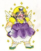Magical Girl Wario by CandySkitty