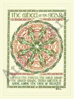 Celtic Wheel of the Year by elegaer