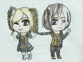 YOHIO then and now: chibis by bluestorm2799