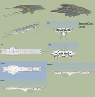 Sylvania class carrier by MSgtHaas