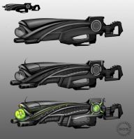 2070 Creature Gun wip by GDSWorld