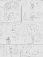 Until the End page 15 (UNCOLORED) by Qille