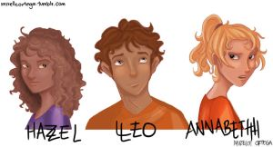 Heroes of Olympus I by illustrationrookie