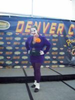 Denver Comic con 2013:  The Joker crossplay by Sherio88