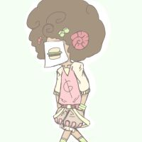 My fluffy fro by Gumiko