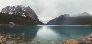 lake louise by digital-uncool