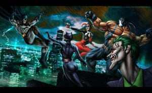 Batman - Gotham Madness by Valzonline