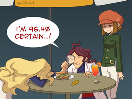Layton Brothers: Hand Sandwich by Aeridis