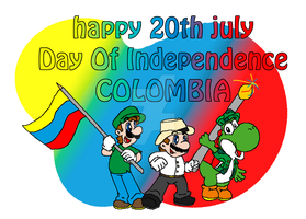 Happy Day Of Independence by NintendoFan10