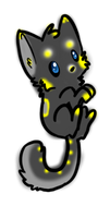 Cute Cat Adoptable #2 -CLOSED- by puffley115