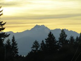 The Olympic Mountains by PatrickCarnahan