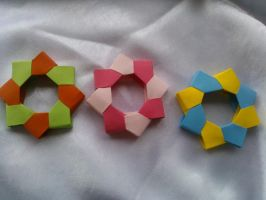 Origami decoration by esterra