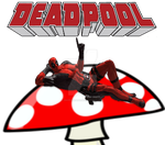 Deadpool On A Toadstool by SNipe4heaDS