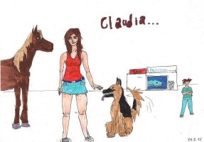 Claudia REDRAW by Jaquina