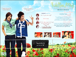 Graphic_DoubleHJ_Leader'sBday by DNCK