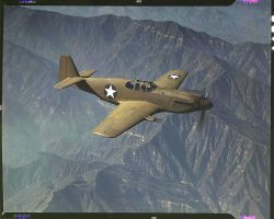 rare colour ww2 photo 4 p51a by Sceptre63