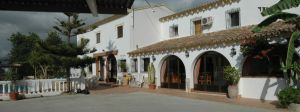Spanish Villa Panorama by BlokkStox