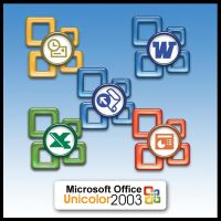 MS Office 2003 Unicolor by weboso