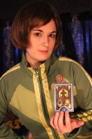 Persona 4 Chie Cosplay by emmadreamstar