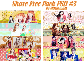 [190114]SHARE FREE-PACK PSD #3 by MiNaKang45